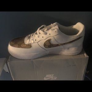 Other - Nike Air shoes w/ gucci